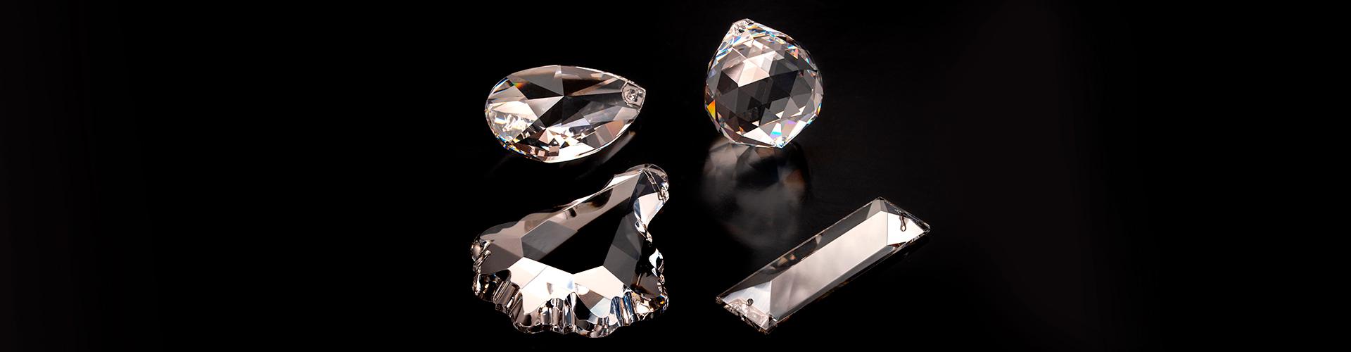 elementi/componenti/pendagli in cristallo egiziano Pbo 30%